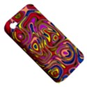 Abstract Shimmering Multicolor Swirly Apple iPhone 4/4S Hardshell Case (PC+Silicone) View5
