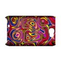 Abstract Shimmering Multicolor Swirly Samsung Galaxy Note 2 Hardshell Case (PC+Silicone) View1
