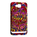 Abstract Shimmering Multicolor Swirly Samsung Ativ S i8750 Hardshell Case View2