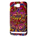 Abstract Shimmering Multicolor Swirly Samsung Ativ S i8750 Hardshell Case View3