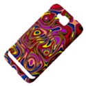 Abstract Shimmering Multicolor Swirly Samsung Ativ S i8750 Hardshell Case View4