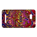 Abstract Shimmering Multicolor Swirly HTC One SU T528W Hardshell Case View1