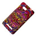 Abstract Shimmering Multicolor Swirly HTC One SU T528W Hardshell Case View4