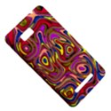 Abstract Shimmering Multicolor Swirly HTC One SU T528W Hardshell Case View5