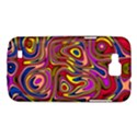 Abstract Shimmering Multicolor Swirly Samsung Galaxy Premier I9260 Hardshell Case View1