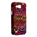 Abstract Shimmering Multicolor Swirly Samsung Galaxy Premier I9260 Hardshell Case View2