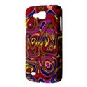 Abstract Shimmering Multicolor Swirly Samsung Galaxy Premier I9260 Hardshell Case View3