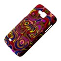 Abstract Shimmering Multicolor Swirly Samsung Galaxy Premier I9260 Hardshell Case View4