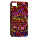 Abstract Shimmering Multicolor Swirly BlackBerry Z10 View2