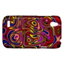 Abstract Shimmering Multicolor Swirly HTC Desire V (T328W) Hardshell Case View1