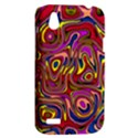 Abstract Shimmering Multicolor Swirly HTC Desire V (T328W) Hardshell Case View2