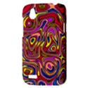 Abstract Shimmering Multicolor Swirly HTC Desire V (T328W) Hardshell Case View3