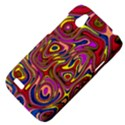 Abstract Shimmering Multicolor Swirly HTC Desire V (T328W) Hardshell Case View4