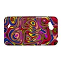Abstract Shimmering Multicolor Swirly HTC Desire VC (T328D) Hardshell Case View1