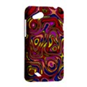 Abstract Shimmering Multicolor Swirly HTC Desire VC (T328D) Hardshell Case View2