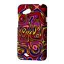Abstract Shimmering Multicolor Swirly HTC Desire VC (T328D) Hardshell Case View3