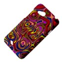 Abstract Shimmering Multicolor Swirly HTC Desire VC (T328D) Hardshell Case View4