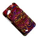 Abstract Shimmering Multicolor Swirly HTC Desire VC (T328D) Hardshell Case View5