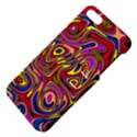 Abstract Shimmering Multicolor Swirly Apple iPhone 5 Hardshell Case with Stand View4