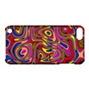 Abstract Shimmering Multicolor Swirly Apple iPod Touch 5 Hardshell Case with Stand View1