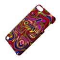 Abstract Shimmering Multicolor Swirly Apple iPod Touch 5 Hardshell Case with Stand View4