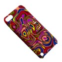 Abstract Shimmering Multicolor Swirly Apple iPod Touch 5 Hardshell Case with Stand View5