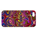 Abstract Shimmering Multicolor Swirly Apple iPhone 5 Premium Hardshell Case View1