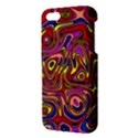 Abstract Shimmering Multicolor Swirly Apple iPhone 5 Premium Hardshell Case View3
