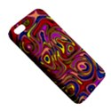 Abstract Shimmering Multicolor Swirly Apple iPhone 5 Premium Hardshell Case View5