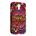 Abstract Shimmering Multicolor Swirly Samsung Galaxy S4 I9500/I9505 Hardshell Case View2