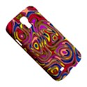 Abstract Shimmering Multicolor Swirly Samsung Galaxy S4 I9500/I9505 Hardshell Case View5