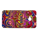 Abstract Shimmering Multicolor Swirly HTC One M7 Hardshell Case View1