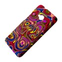 Abstract Shimmering Multicolor Swirly HTC One M7 Hardshell Case View4