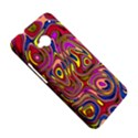 Abstract Shimmering Multicolor Swirly HTC One M7 Hardshell Case View5