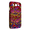 Abstract Shimmering Multicolor Swirly Samsung Galaxy Mega 5.8 I9152 Hardshell Case  View2