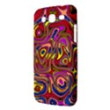 Abstract Shimmering Multicolor Swirly Samsung Galaxy Mega 5.8 I9152 Hardshell Case  View3