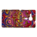 Abstract Shimmering Multicolor Swirly Sony Xperia SP View1