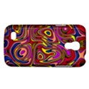 Abstract Shimmering Multicolor Swirly Galaxy S4 Mini View1