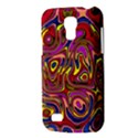 Abstract Shimmering Multicolor Swirly Galaxy S4 Mini View3