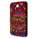 Abstract Shimmering Multicolor Swirly Samsung Galaxy Tab 3 (7 ) P3200 Hardshell Case  View3