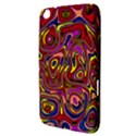 Abstract Shimmering Multicolor Swirly Samsung Galaxy Tab 3 (8 ) T3100 Hardshell Case  View3