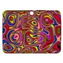 Abstract Shimmering Multicolor Swirly Samsung Galaxy Tab 3 (10.1 ) P5200 Hardshell Case  View1