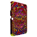 Abstract Shimmering Multicolor Swirly Samsung Galaxy Tab 3 (10.1 ) P5200 Hardshell Case  View2