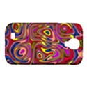Abstract Shimmering Multicolor Swirly Samsung Galaxy S4 Classic Hardshell Case (PC+Silicone) View1