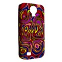 Abstract Shimmering Multicolor Swirly Samsung Galaxy S4 Classic Hardshell Case (PC+Silicone) View2