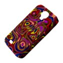 Abstract Shimmering Multicolor Swirly Samsung Galaxy S4 Classic Hardshell Case (PC+Silicone) View4