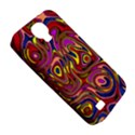 Abstract Shimmering Multicolor Swirly Samsung Galaxy S4 Classic Hardshell Case (PC+Silicone) View5