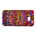 Abstract Shimmering Multicolor Swirly HTC Butterfly S/HTC 9060 Hardshell Case View1