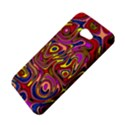 Abstract Shimmering Multicolor Swirly HTC Butterfly S/HTC 9060 Hardshell Case View4