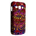 Abstract Shimmering Multicolor Swirly Samsung Galaxy Ace 3 S7272 Hardshell Case View2